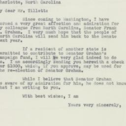 Letter: 1950 May 4