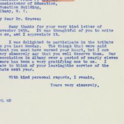 Letter : 1939 November 27