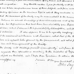 Document, 1822 June 10