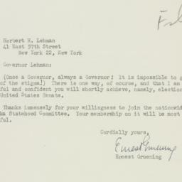 Letter: 1949 October 4