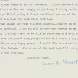 Invitation : 1956 October 8