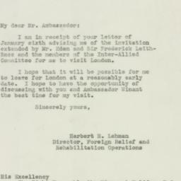 Letter : 1943 January 20