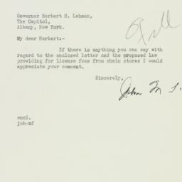 Letter : 1933 February 18