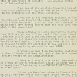 Letter : 1933 February 13