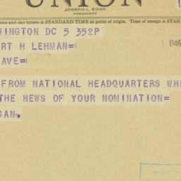Note : 1946 September 5