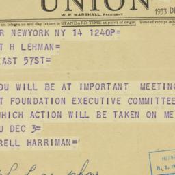 Clipping : 1953 December 14