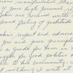 Letter : 1962 October 15