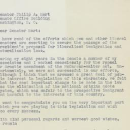 Letter : 1963 August 7