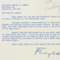 Letter : 1963 August 19