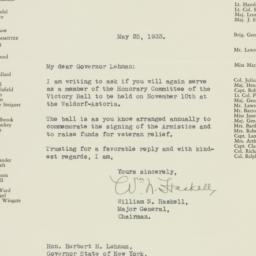 Letter : 1933 May 25