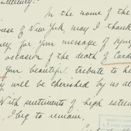 Letter : 1938 September 6