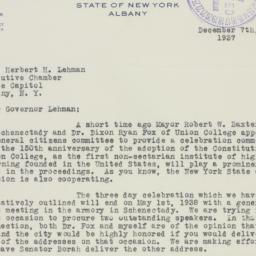 Letter : 1937 December 7