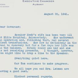 Telegram : 1942 August 20