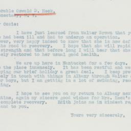 Telegram : 1941 August 22