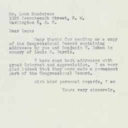 Letter : 1953 March 24