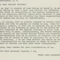 Letter : 1946 March 5