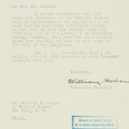 Letter : 1926 May 25
