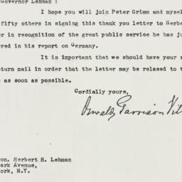 Letter : 1947 March 11