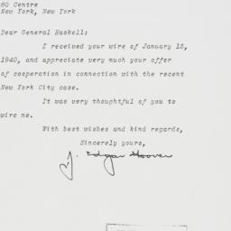 Letter: 1940 January 24