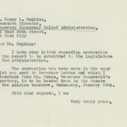 Letter : 1932 January 19