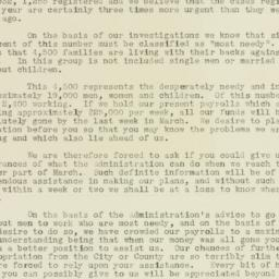 Letter : 1932 March 3
