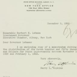 Letter: 1932 December 5