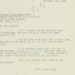 Manuscript: 1932 November 26