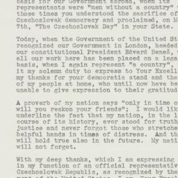 Letter: 1941 August 2