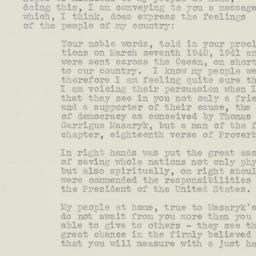 Letter : 1942 December 2