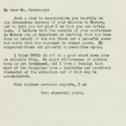 Document : 1943 November 14