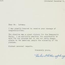 Letter : 1948 December 11