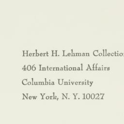 Envelope : 1958 April 8