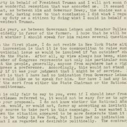 Letter : 1949 October 5