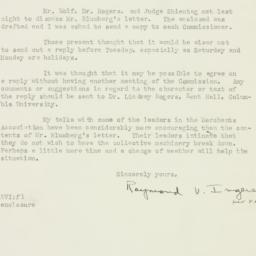 Letter: 1925 September 25