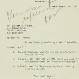 Letter : 1924 October 28