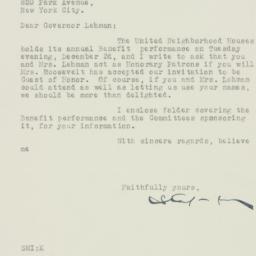 Letter : 1935 November 12