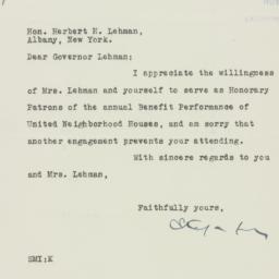 Letter : 1935 November 15
