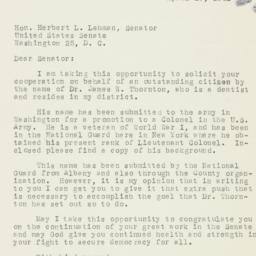 Letter : 1951 April 29