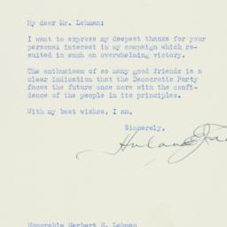 Letter : 1953 November 21