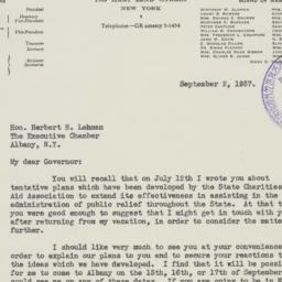 Letter : 1937 September 2