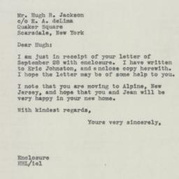 Letter : 1945 October 1