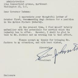 Letter : 1945 October 9