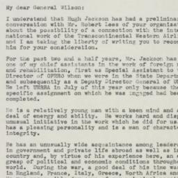 Letter : 1945 October 31