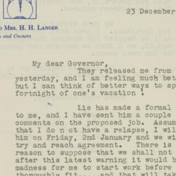 Letter: 1947 December 23