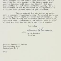 Letter: 1944 April 18