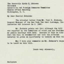 Letter : 1950 November 17