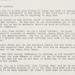 Letter : 1951 June 28