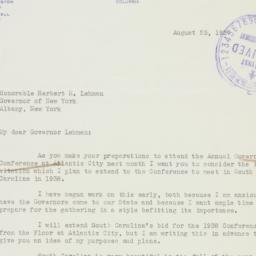 Letter : 1937 August 25