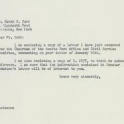 Letter : 1956 March 5