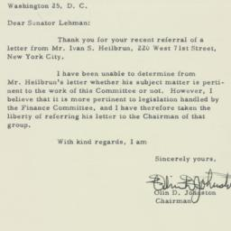 Letter : 1956 March 8